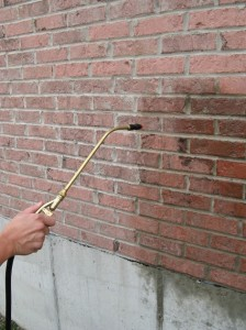 Brick Sealing & Waterproofing by Spray Application