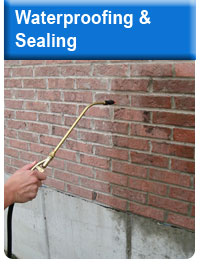 waterproofing and sealing