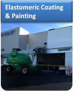 Elastomeric Wall Coating and Painting