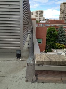 Water Leak Detection Service on Building Roof